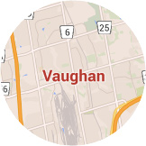 Map Vaughan